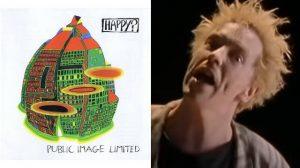 Capa de Happy e John Lydon no clipe de Seattle