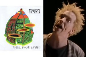Capa de Happy e John Lydon no clipe de Seattle