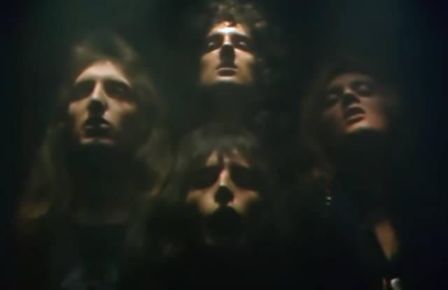 Cena do clipe de Bohemian Rhapsody