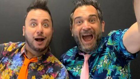 Gabriel Manetti e Fabio Freire, idealizadores do Beatles para Crianças