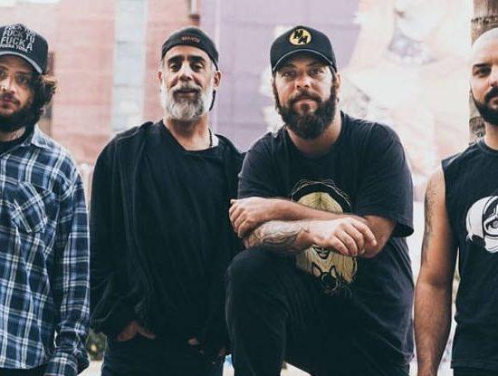 PH Barcellos, Capoo Polacco, Felipe Cazaux e Renan Maia, da Mad Monkees