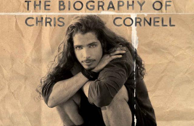 Detalhe da capa da nova biografia de Chris Cornell (Reprodução)