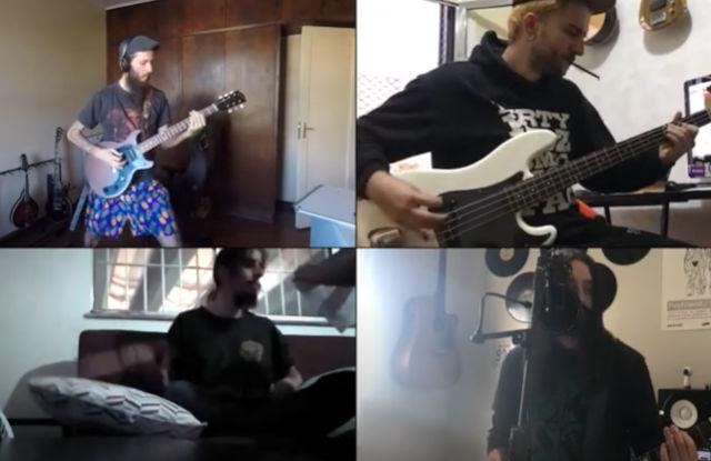 Komodo Queens em clipe gravado virtualmente (Reprodução)