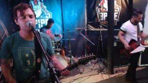 A banda Imperial Pilots no 3 Pipe Rock Fest (Reprodução)