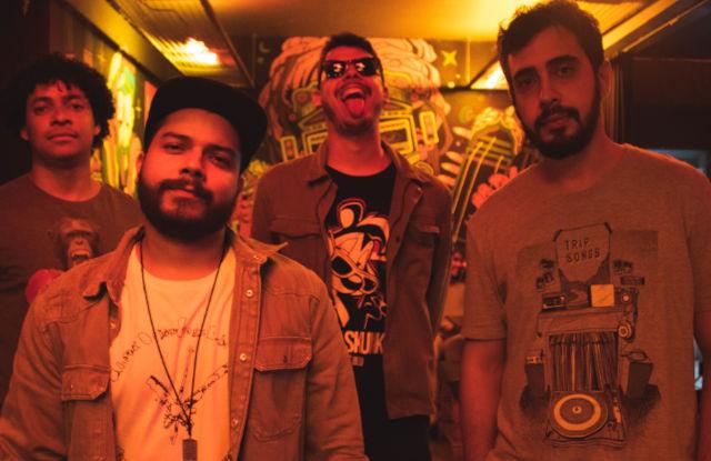 A banda Blowdrivers, de Goiânia