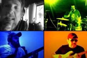 Cena do clipe Bora, da banda Imperdíveis (Reprodução)