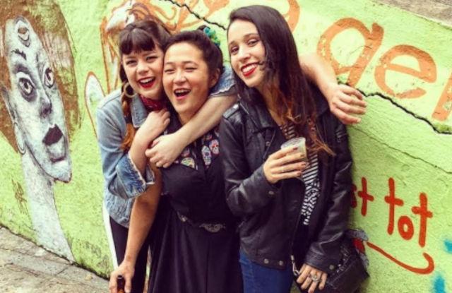 O trio Time Bomb Girls (Reprodução)