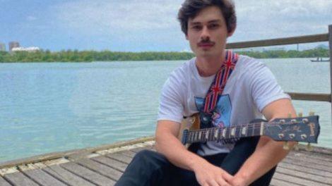 O músico João Pedro Leite (Reprodução)