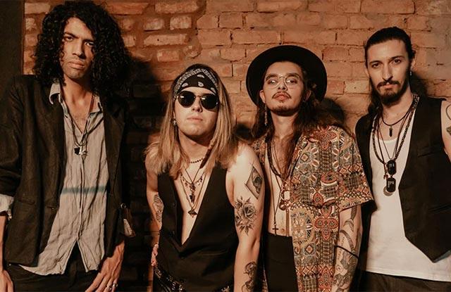 A banda Electric Gypsy (Iana Domingoss Divulgação)