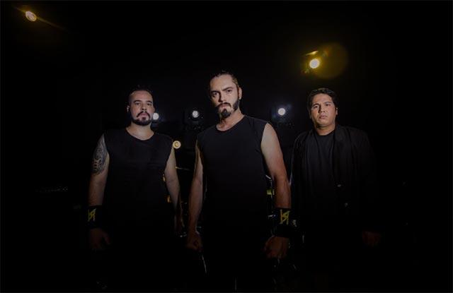 O trio paraibano Headspawn (Rafael Passos Divulgação)